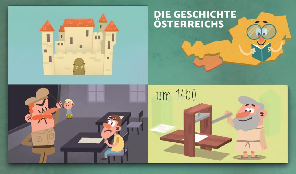 """Titelbild """"Die Geschichte Österreichs"""""""